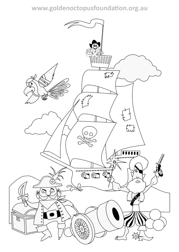 ollee colour in 04 - Colouring In Activities