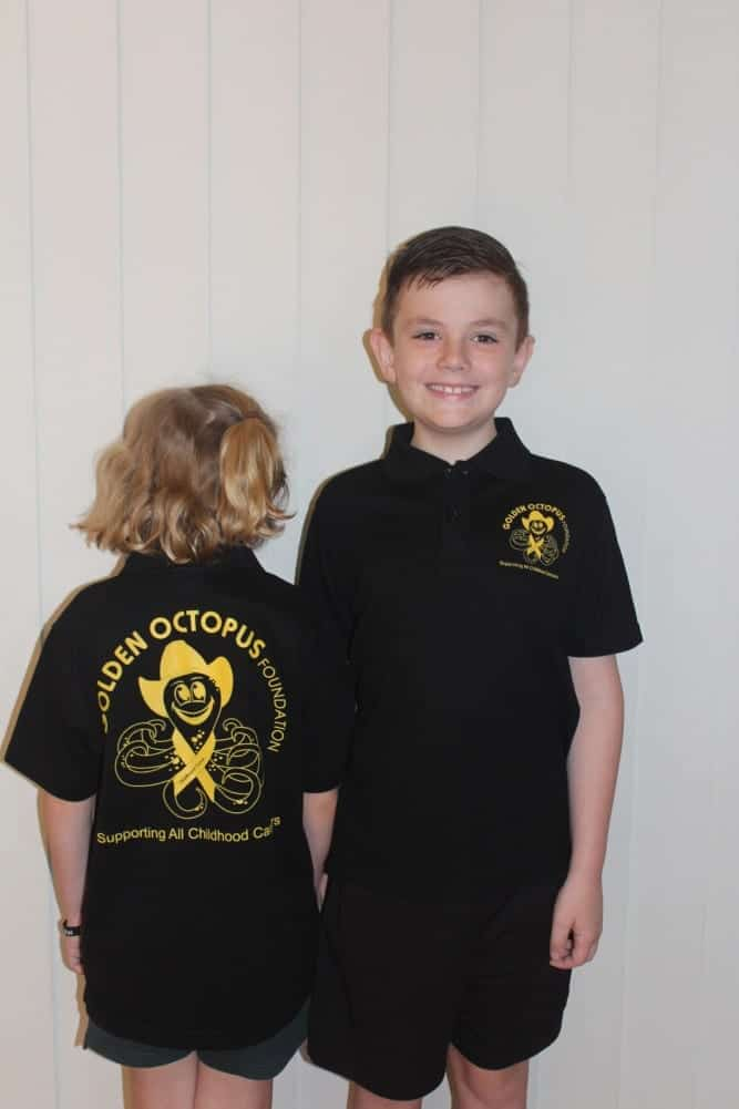 Supporter Shirt - Child Black