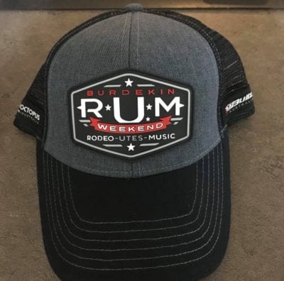 Burdekin RUM Weekend Supporter Cap